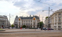 Street of Vienna in Austria Royalty Free Stock Images