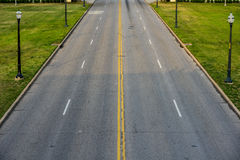 Street View from Above Royalty Free Stock Photography
