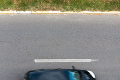 Street view from above Royalty Free Stock Image