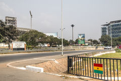 Street view in Accra, Ghana Royalty Free Stock Photography