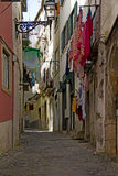 Street view in the alfama, lisbon Stock Photos