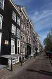 Street view in Amsterdam Royalty Free Stock Image