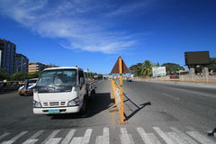 Street view in Angeles City Stock Photography