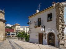 Street view of Antequera, Southern Spain Royalty Free Stock Photography
