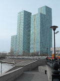 Street view in Astana Stock Image