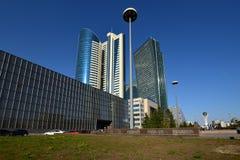 A street view in Astana Stock Photos