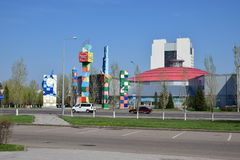 A street view in Astana Royalty Free Stock Images
