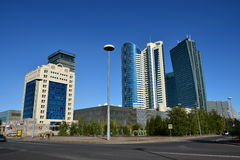 A street view in Astana Stock Image