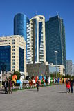 A street view in Astana Stock Photo