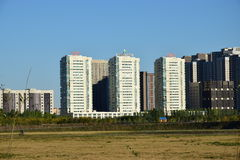 A street view in Astana, Kazakhstan Stock Image