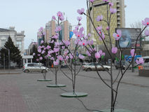 Street view in Astana Royalty Free Stock Photography
