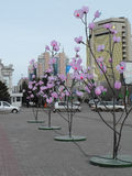 Street view in Astana Stock Photo