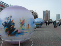 Street view in Astana Royalty Free Stock Photo