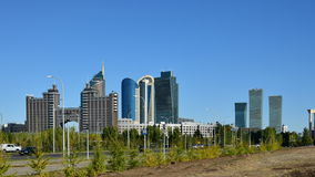 A street view in Astana Stock Images