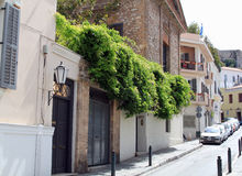 Street view in Athens Greece Stock Images