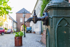 Street view in Bedburg Alt-Kaster, Germany Stock Photography