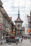Street view in Bern city Royalty Free Stock Image