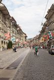 Street view in Bern city Royalty Free Stock Photos