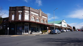 Street view of Blackheath in Australia Stock Photo