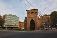 Street view Bologna Royalty Free Stock Images