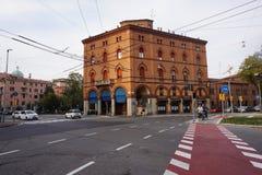 Street view Bologna Stock Image