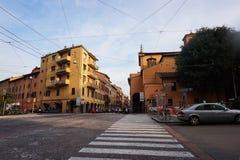 Street view Bologna Stock Photos