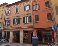 Street view Bologna Royalty Free Stock Image