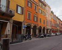 Street view Bologna Royalty Free Stock Photo
