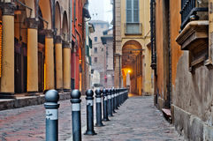 Street view Bologna Stock Images