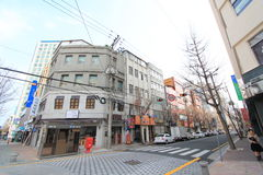 Street view in busan Stock Photos