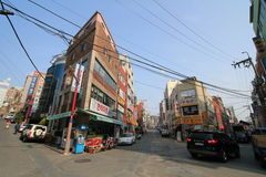 Street view in busan Royalty Free Stock Photo