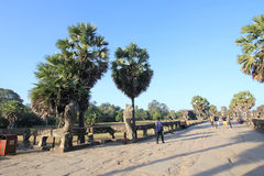Street view in Cambodia Siem Reap Stock Photos