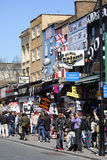 Street view of Camden Market Royalty Free Stock Photos