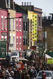 Street view of Camden Market Stock Images
