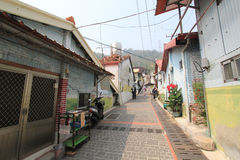 Street view in Checheng, Taiwan Royalty Free Stock Photography