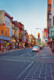 Street view in Chinatown of Philadelphia PA Stock Photography