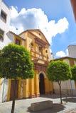 Street view of church in Cordoba Stock Photo