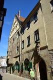 Street view in Coburg, Germany Stock Photo