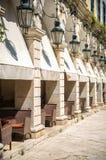 Street view of Corfu, Greece Stock Photo