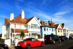 Street view Deal town Kent England Royalty Free Stock Photo