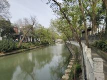 Street View del río de Guangxi Beihai de China imagenes de archivo