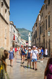 Street view of Dubrovnik, Croatia Stock Photos