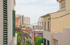Street view in El Terreno Royalty Free Stock Photography