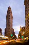 Street View at the Flat Iron building Royalty Free Stock Photos