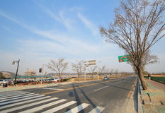 Street view in Gyeongju Stock Photo