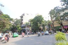 Town, road, street, neighbourhood, mode, of, transport, city, tree, downtown, pedestrian, lane, plaza, area, metropolitan, square,. Photo of town, road, street stock photos