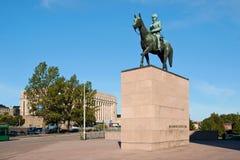 Street view in Helsinki Royalty Free Stock Photos