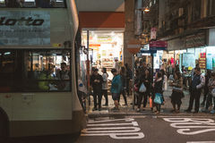 Street view in Hong Kong Stock Photography