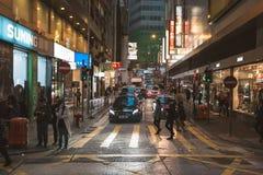 Street view in Hong Kong Royalty Free Stock Image