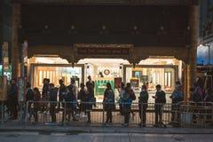 Street view in Hong Kong Royalty Free Stock Photo